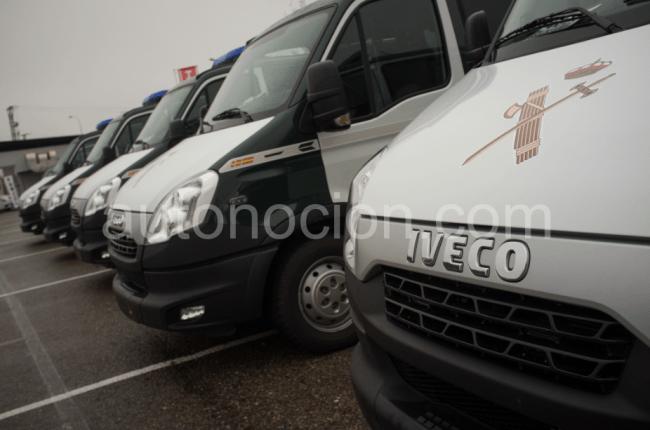 Iveco suministra a la DGT 14 furgones Daily