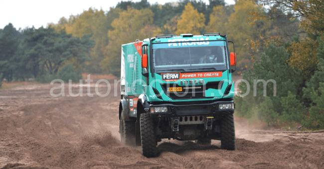Iveco y FTP Industrial en el Dakar 2013