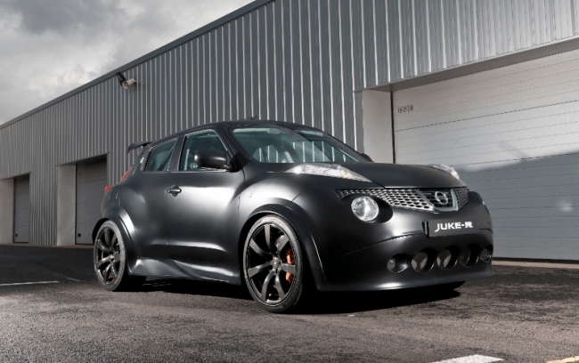 Nissan confirma los datos prestacionales del Juke-R