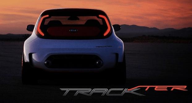 Teaser del Kia Track'ster