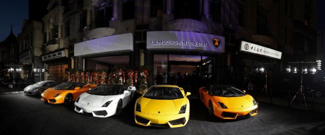Ya van doce: Lamborghini inaugura dos nuevos concesionarios en China