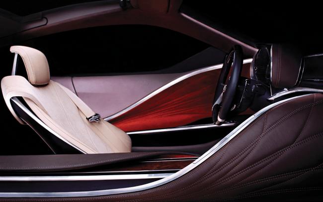 Segundo teaser del nuevo concepto de Lexus