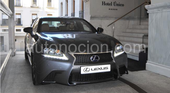 El Lexus GS en el  Gourmet Fashion Day