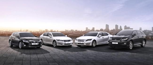 Lexus alcanza las 100.000 ventas de Hybrid Drive en Europa