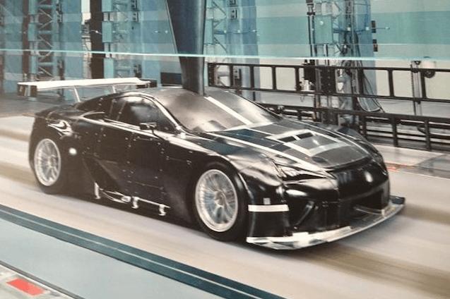 Akira Lida, piloto de Lexus, puede haber revelado el LFA para Le Mans