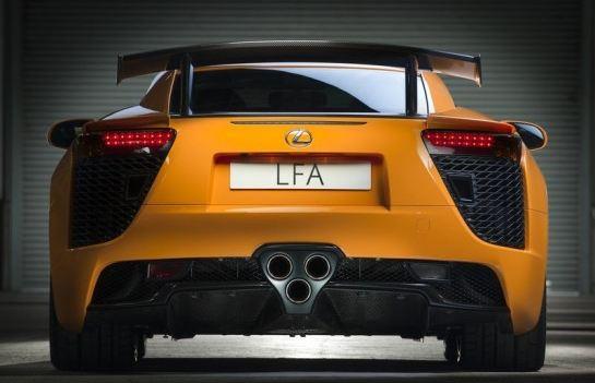 Lexus tiene planes para la tecnología empleada en el LFA