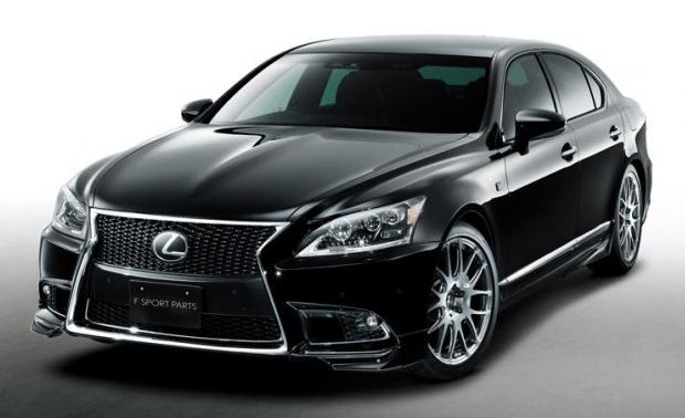 Más de deportividad para el Lexus LS con TRD