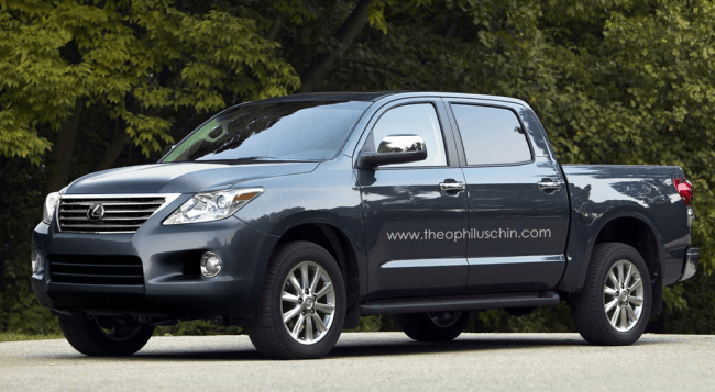 Lexus: Un deportivo y una pick up en cuestión de días