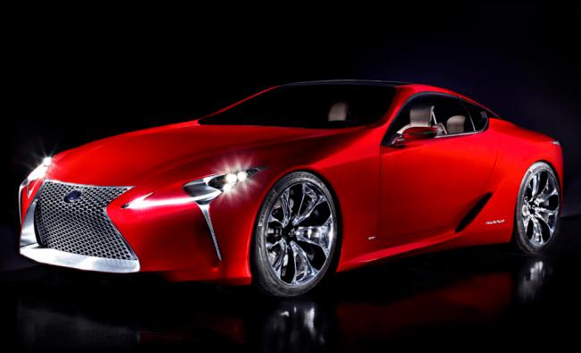 Lexus presentará como primicia en Europa el Lexus LF-LC Concept