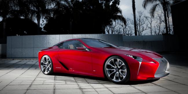 Lexus participará con el LF-LC Concept en el Concorso d'Eleganza Villa d'Este