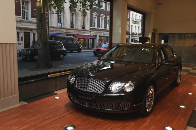 Bentley y Linley, lujo de altas prestaciones para China
