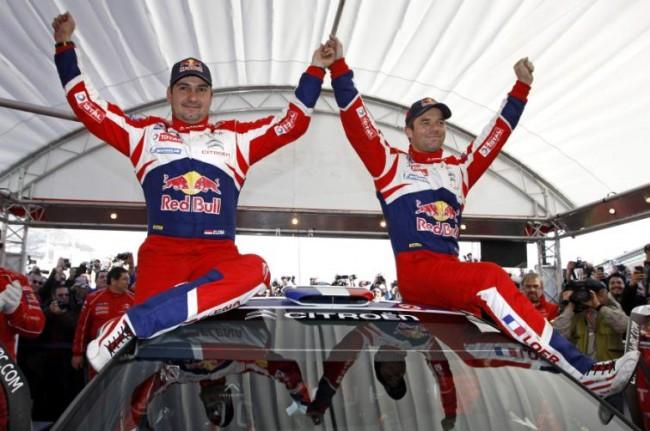 Loeb gana su 6º Rally Montecarlo con Citroën