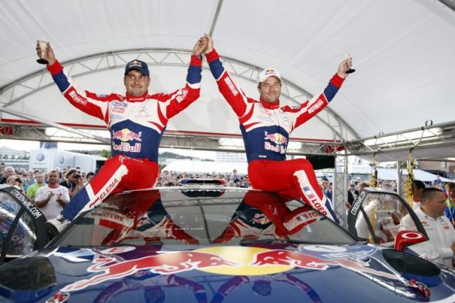 El Oro para Sébastien Loeb