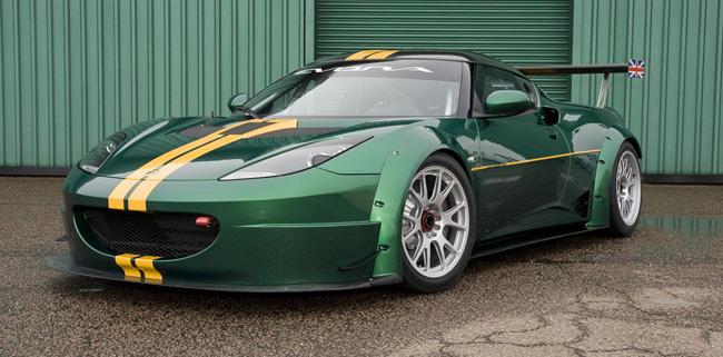 Lotus presenta su nuevo carreras-cliente, el Evora GTC