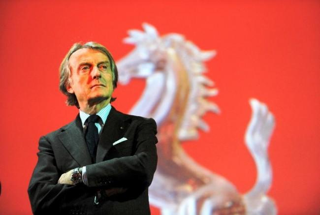 Luca de Montezemolo nuevo Director Europeo del Año