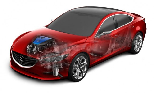 El sistema Mazda i-ELOOP