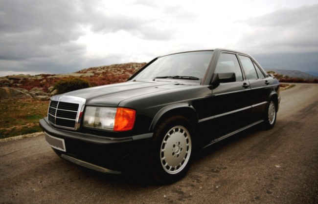 Mercedes 190E 2.5-16v: Elegantemente eficaz