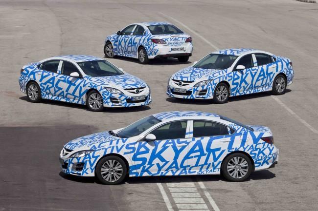 Mazda nos enseña sus cartas: Skyactiv