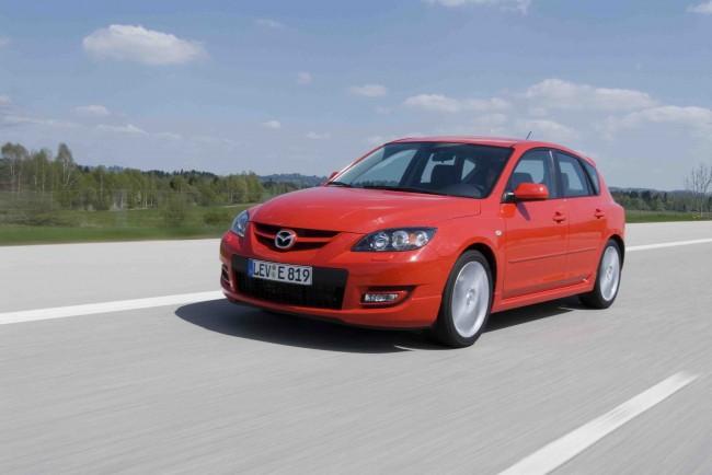 Llamada a revisión para Mazda 3 y Mazda 3 MPS