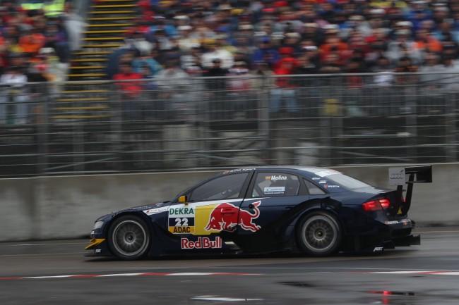 La húmeda carrera en Norisring terminó antes de tiempo