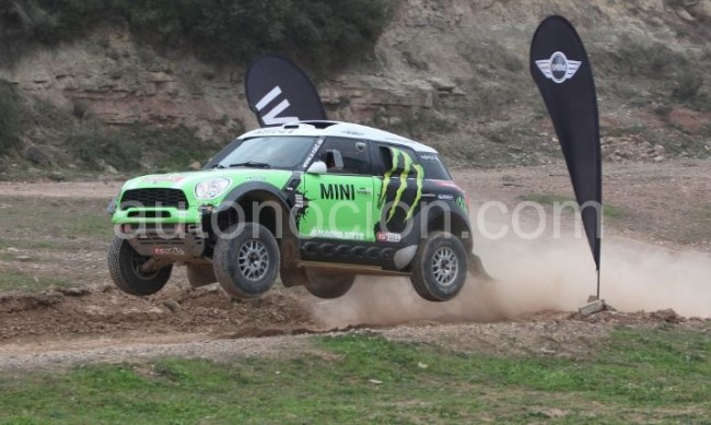 MINI All4 Racing: De MINI nada, una bestia en toda regla para 2013