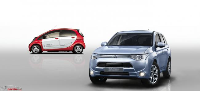 Mitsubishi Outlander PHEV en el Salón del Automóvil de Ginebra de 2013