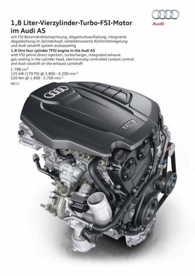 Mejorando lo inmejorable: Audi rediseña su motor 1.8 TFSI