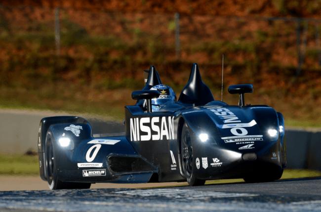 El Nissan Deltawing en el Petit Le Mans