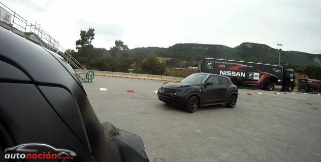 Prototipo Nissan Juke Nismo RC en acción