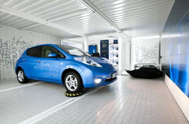 Nissan presenta una sorprendente exposición itinerante orientada al futuro