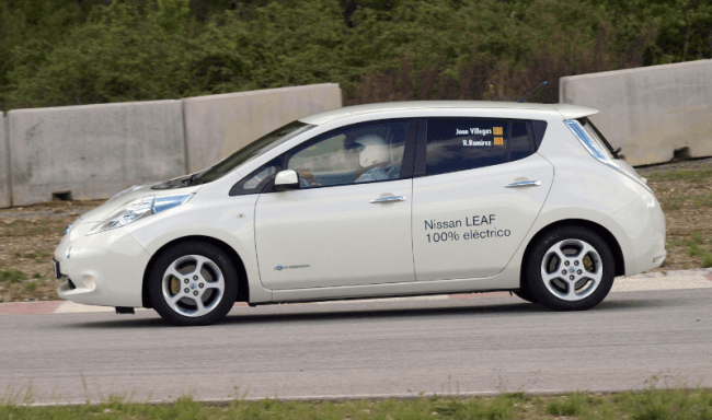 Tres Nissan en el Podio de las EcoSeries