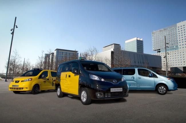 Nissan NV200, y la nueva generación de taxis eléctricos