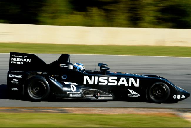 Lucas Ordoñez preparado para su debut con el Nissan Deltawing en EEUU