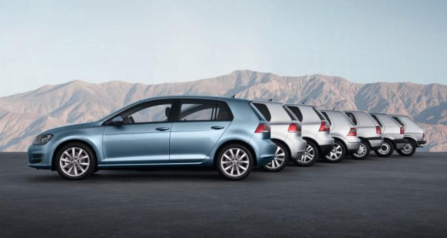 Volkswagen presenta el nuevo Golf en París