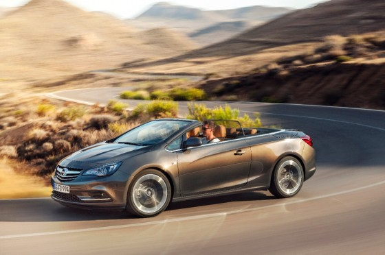 Nuevo Opel Cabrio: Atlético y glamuroso descapotable de tamaño medio