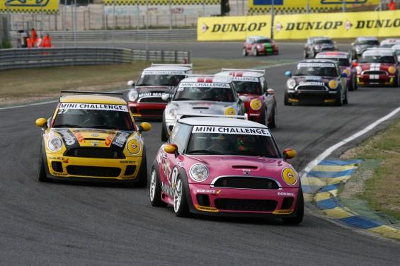 Segunda carrera de la Mini Challenge del Gran Premio de España en Barcelona
