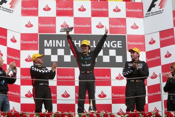 Primera carrera de la Mini Challenge del Gran Premio de España Santander de Fórmula 1