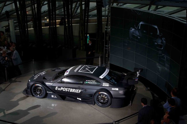 BMW entra en el DTM con un coche de infarto