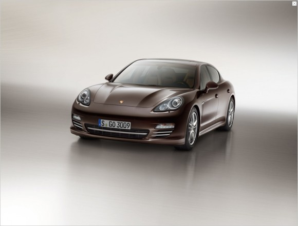 Exclusividad y elegancia: Panamera Platinum Edition