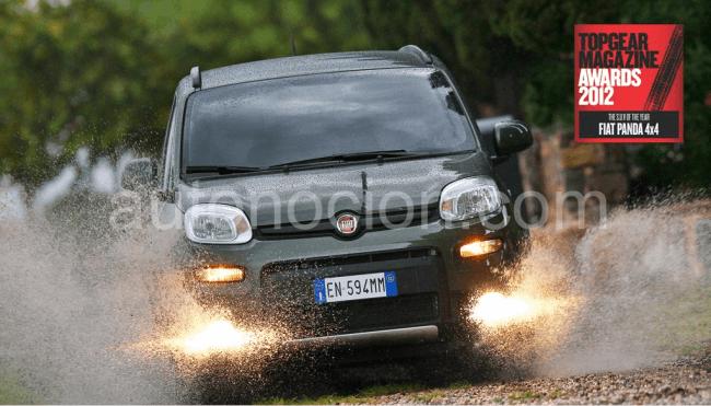 El Panda 4×4 es el 'SUV del año 2012' según la prestigiosa revista inglesa Top Gear
