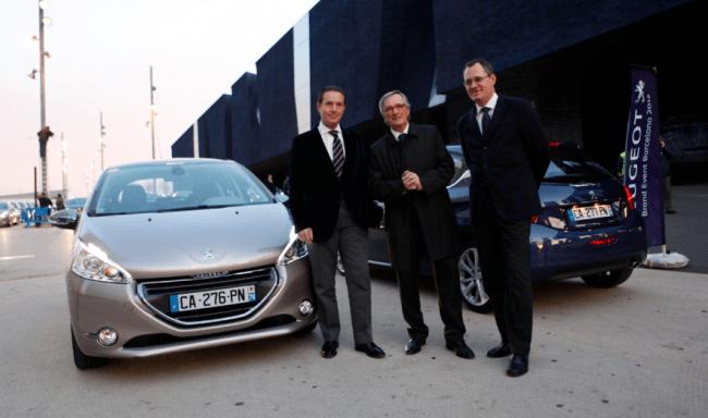 Presentación Internacional del Peugeot 208 en Barcelona