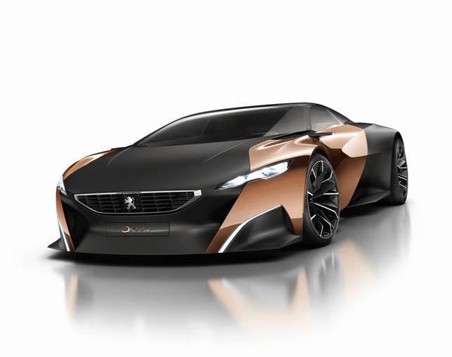 El favorito del Salón de París: Peugeot Onyx