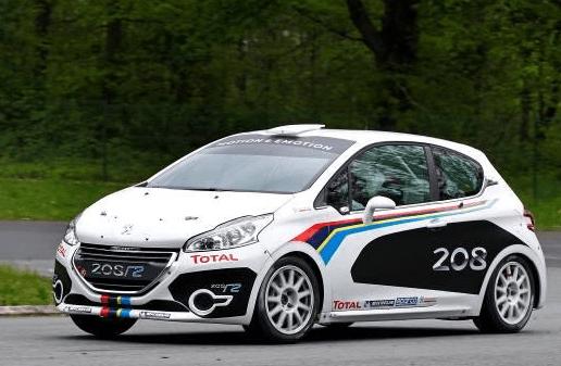 Un ganador de la competición: Peugeot 208 R2