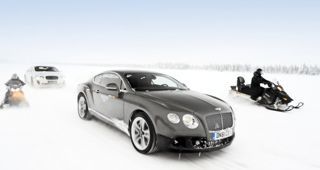 Vuelve Bentley con Power on Ice