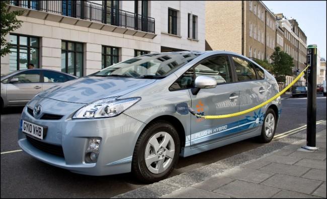 La eficiencia demostrada de los Prius enchufables