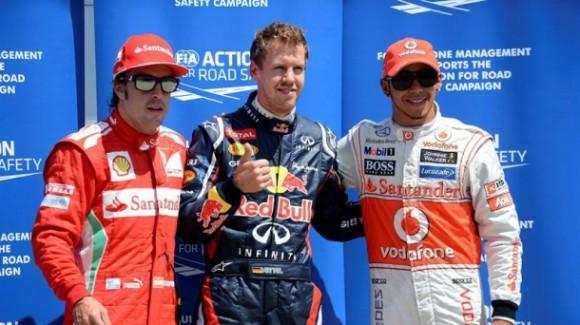Clasificación GP Canadá: Vettel se lleva la pole