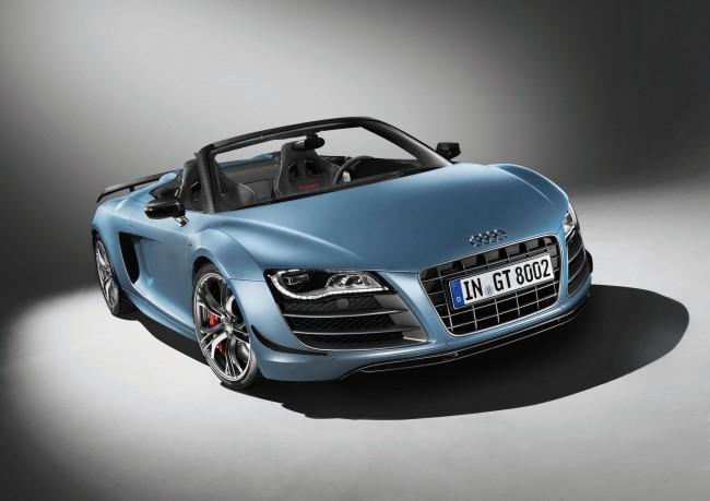 El nuevo VIP de Audi: R8 GT SPYDER
