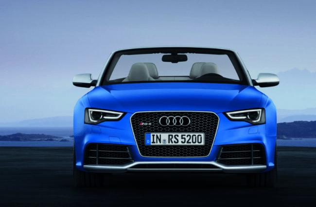 Todo sobre el nuevo Audi RS5 Cabrio