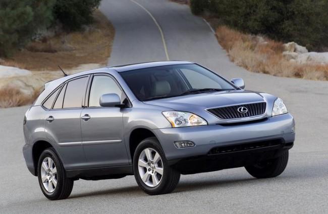 Lexus llama a revisión al RX300 y RX 400h