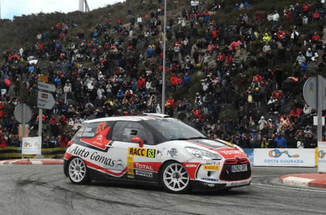 El Citroën  DS3 hace doblete en el Rally de España